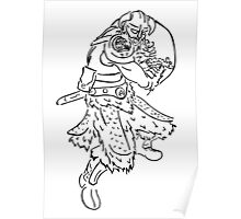 Dragon Kin Celtic Poster