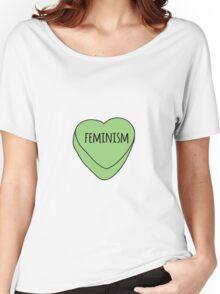 Feminism Candy Heart Women's Relaxed Fit T-Shirt