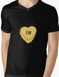 Ew Candy Heart Mens V-Neck T-Shirt
