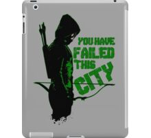 Green Vigilante iPad Case/Skin
