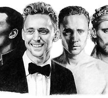 The Many Faces of Tom Hiddleston by Rotae