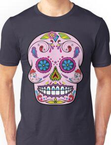skull rose 2 Unisex T-Shirt