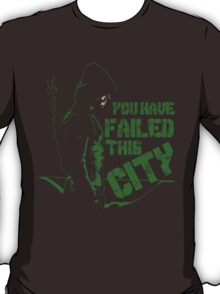 Vigilante all black T-Shirt