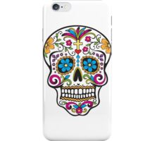 skull white iPhone Case/Skin