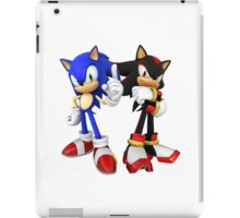 Sonic and Shadow - Sonic the Hedgehog iPad Case/Skin
