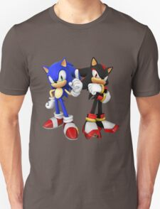 Sonic and Shadow - Sonic the Hedgehog T-Shirt