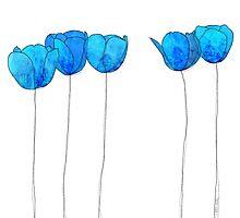 Blue Flowers by jripleyfagence