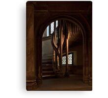 Stair case Canvas Print