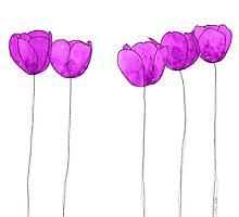 Purple flowers by jripleyfagence