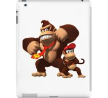DK and Diddy Kong - Donkey Kong iPad Case/Skin