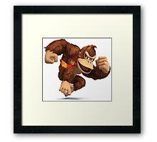 Donkey Kong - Super Smash Bros Framed Print