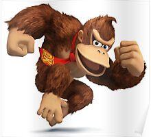 Donkey Kong - Super Smash Bros Poster