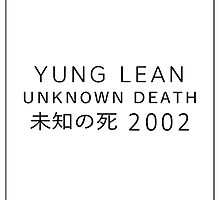 unknown death 2002 tee. by wavriels