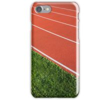 Running Track iPhone Case/Skin