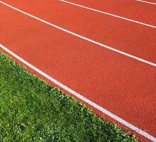 Running Track by Artur Bogacki