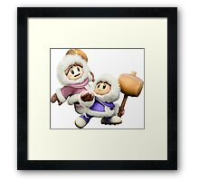 Ice Climbers - Super Smash Bros Framed Print