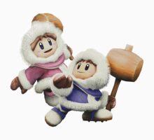 Ice Climbers - Super Smash Bros by samhmcq