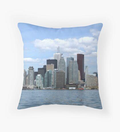 Toronto Down town... Throw Pillow