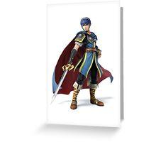 Marth - Super Smash Bros Greeting Card