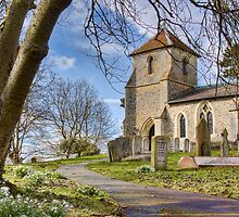 St Mary the Virgin, Clothall by Roantrum
