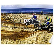 ATV at Margate Poster