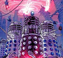 Doctor Who - Daleks Invading the Earth by TylerMellark
