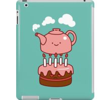 tea with cake iPad Case/Skin