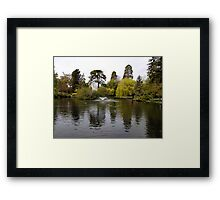 Beacon Hill Park Framed Print
