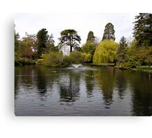 Beacon Hill Park Canvas Print