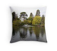 Beacon Hill Park Throw Pillow