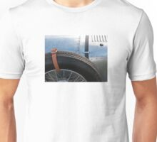 Vintage Car Spare Wheel Unisex T-Shirt