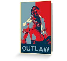 Graves - League of Legends - Outlaw Greeting Card