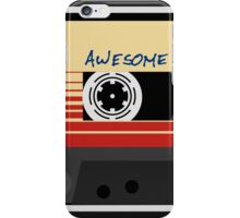 Awesome, Mix Tape Vol.1, Guardians of the galaxy iPhone Case/Skin