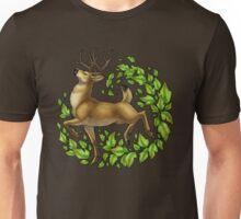 Leafy Cervine Unisex T-Shirt