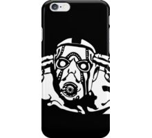Borderlands - Psycho Black and White iPhone Case/Skin
