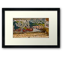 Graffitti Dos Framed Print