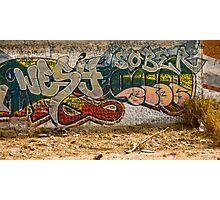 Graffitti Dos Photographic Print