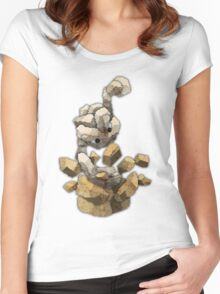 geodude Women's Fitted Scoop T-Shirt
