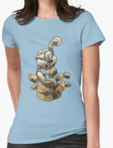 geodude Womens Fitted T-Shirt