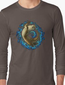 Otter Waves Long Sleeve T-Shirt