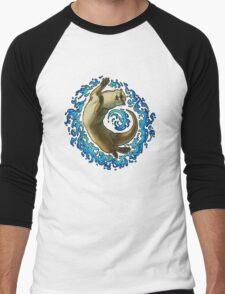 Otter Waves Men's Baseball ¾ T-Shirt