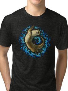 Otter Waves Tri-blend T-Shirt