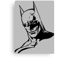 Batman - Minimal Figure the Dark Knight Canvas Print