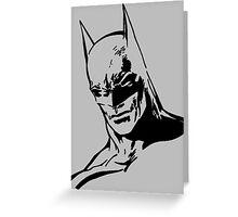 Batman - Minimal Figure the Dark Knight Greeting Card