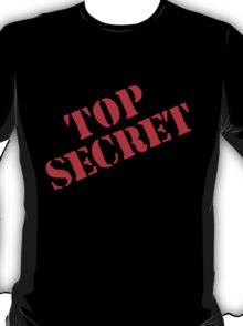 Top Secret - Red T-Shirt