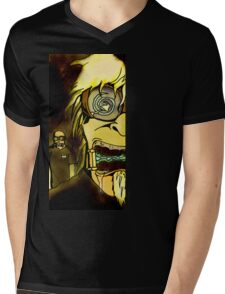 MALLCABRE II Mens V-Neck T-Shirt