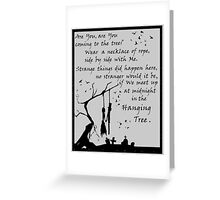 Hunger Games - The Hanging Tree Song (2) Greeting Card