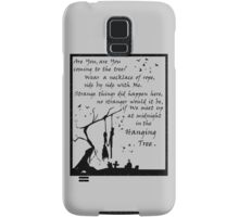 Hunger Games - The Hanging Tree Song (2) Samsung Galaxy Case/Skin
