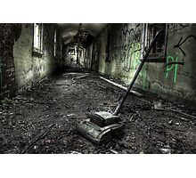 Sack the janitor Photographic Print