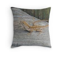 Komodo Wannabe Throw Pillow